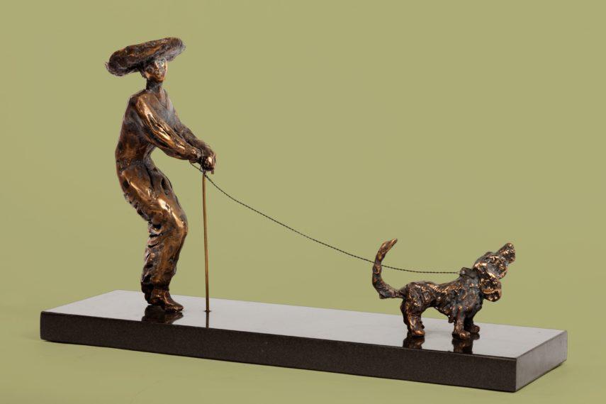 Daam väikese koerakesega, 2007 57x27x10 1400€