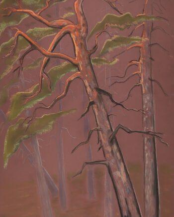 pine, pastel, estonianartist, pink