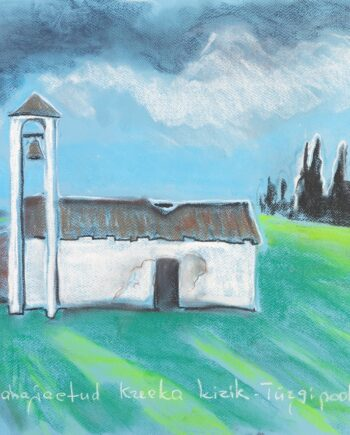Church, cyprus, abandoned, landscap, ruins, religion, estonianartist, taunokangroe