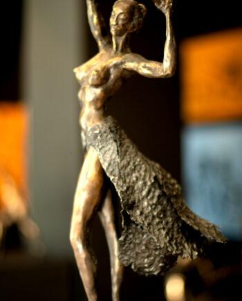 taunokangro, nude2, skulptuur, bronze, bronzeart, nude, dancer, dance