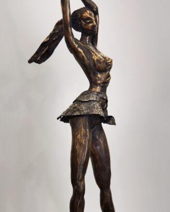ballet, bronze, bronzestatue, taunokangro, estoniansculpture, estoninanartist, balerina, dancer