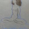 Pastel painting Tauno Kangro