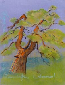 CLIMBING TREE IN LAHEMAA