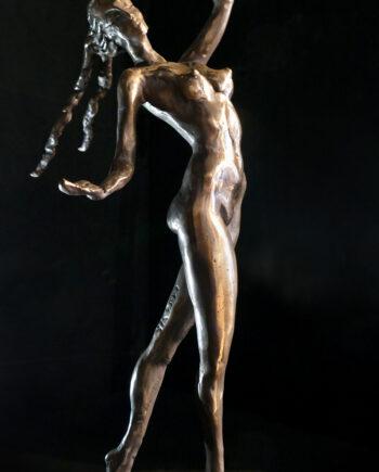 dancer, bronze, bronzesculpture, taunokangro